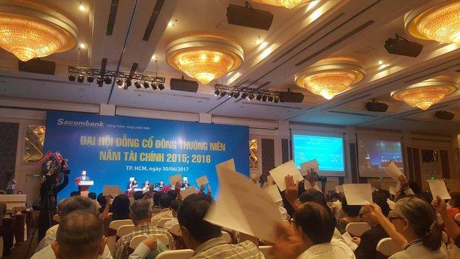 Ứng viên trẻ tuổi nhất vào HĐQT Sacombank từng là Trợ lý của ông Đặng Văn Thành