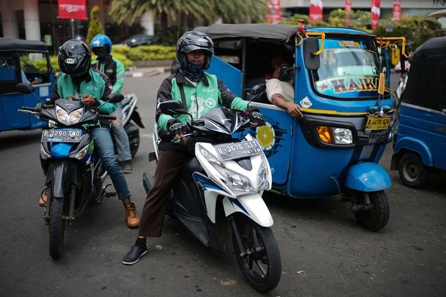 Ứng dụng gọi xe Go-Jek nuôi tham vọng đánh bại Uber và Grab