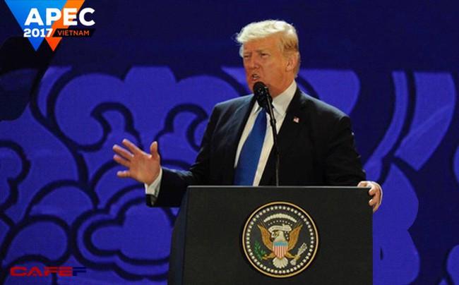 Phát biểu tại APEC, Tổng thống Trump đưa ra quan điểm cứng rắn về thương mại