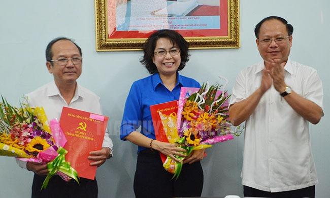 Điều động nhân sự chủ chốt Thành ủy TPHCM