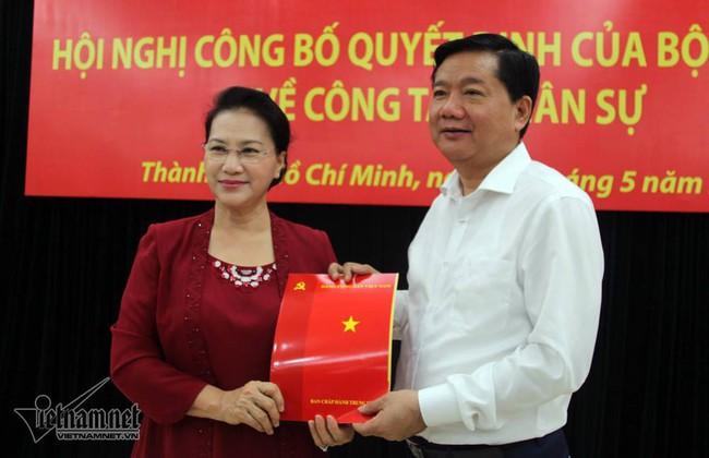 Phát biểu của ông Đinh La Thăng tại buổi công bố tân Bí thư TP HCM