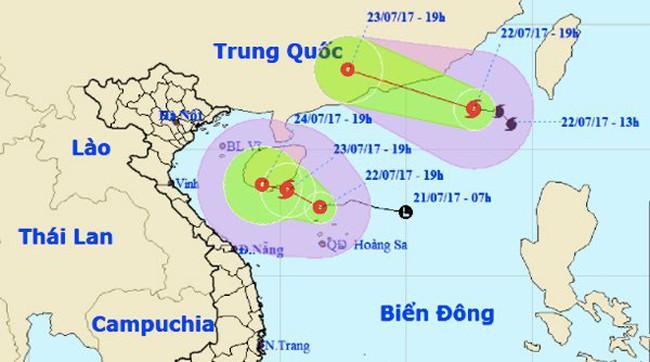 Áp thấp nguy cơ thành bão, Hà Nội tăng nắng