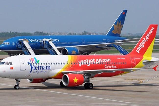"""Infographic: """"So găng"""" 2 hãng hàng không lớn nhất Việt Nam"""