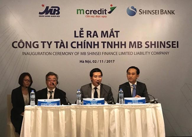 MB bán 49% công ty tài chính Mcredit cho đối tác Nhật, đặt mục tiêu vào top 3 trong 5 năm tới