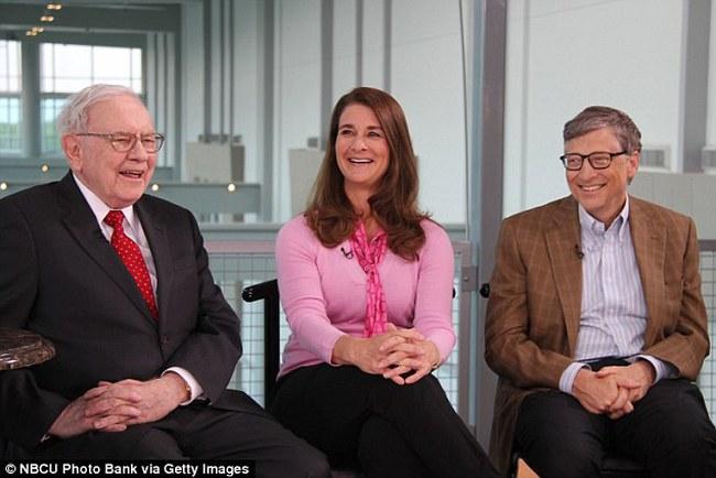 Vợ của tỷ phú Bill Gates đánh giá cao con người của Warren Buffett