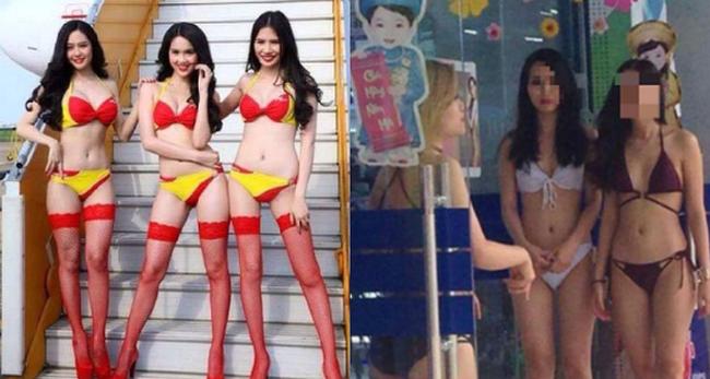Cùng tung chiêu marketing bằng bikini, tại sao Vietjet Air thành công còn Trần Anh thì không?