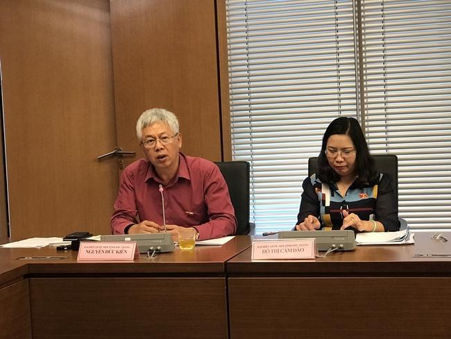 """Đại biểu Nguyễn Đức Kiên: """"Trong thực tế chưa có khoản nợ nào của DNNN mà Nhà nước không phải trả"""""""