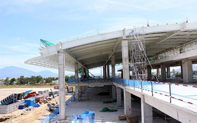 Siết tiến độ thi công nhà ga quốc tế sân bay Đà Nẵng