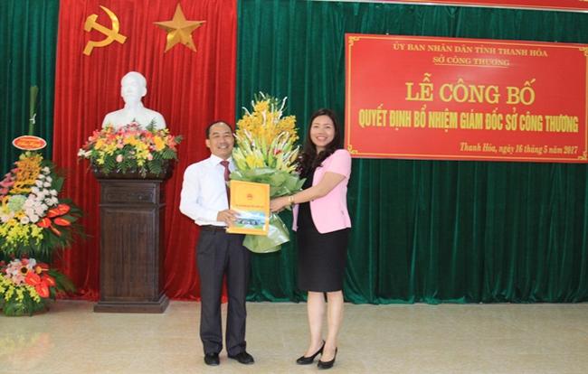 Thanh Hóa bổ nhiệm Giám đốc Sở Công thương