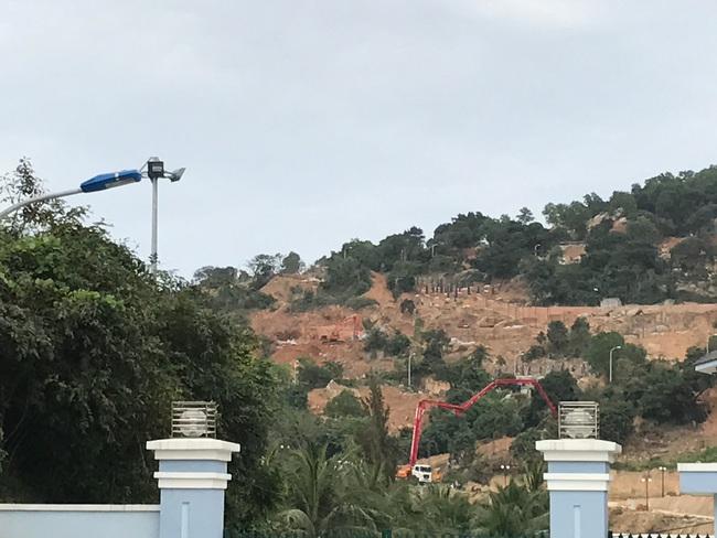 Cận cảnh khu nghỉ dưỡng UBND TP Đà Nẵng yêu cầu kiểm tra tại bán đảo Sơn Trà (Đà Nẵng)
