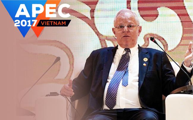 Tổng thống Peru giải thích lý do chậm trễ trong giải quyết 3 kiến nghị của Petrovietnam ngay tại APEC CEO Summit 2017