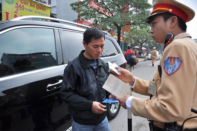 Được dùng bản sao giấy đăng ký xe khi tham gia giao thông