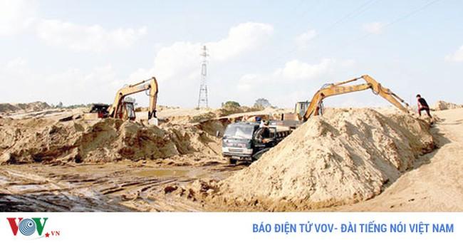 Giá cát xây dựng tăng cao chỉ mang tính chất thời điểm