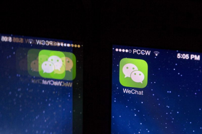 """""""Ván bài"""" khó chơi của Apple tại Trung Quốc: Đối mặt với WeChat"""