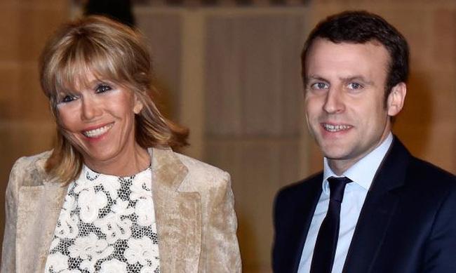 Gu thời trang trẻ trung giúp vợ hơn 24 tuổi tự tin khi sánh đôi cùng Tổng thống đắc cử Emmanuel Macron