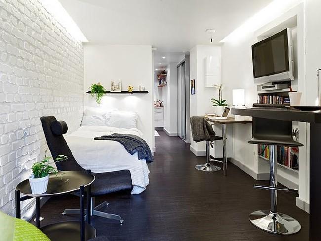 Xiêu lòng trước căn hộ 25m² có thiết kế cực thông minh