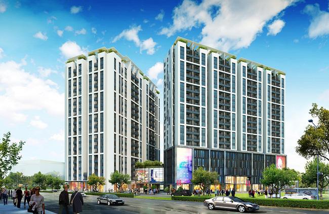 Xuất hiện dự án mới tại tâm điểm khu Đông Hà Nội