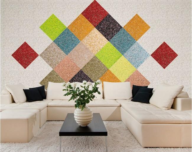 Trang trí nhà đẹp mê ly với loại sơn tường độc lạ