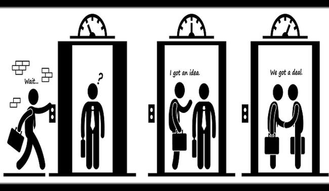 Làm thế nào để trong vài phút đi thang máy dân sales cũng bán được hàng?
