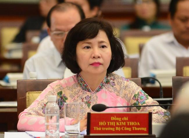 """Bộ Công thương: Thứ trưởng Hồ Thị Kim Thoa xin thôi việc vì """"lý do cá nhân"""""""
