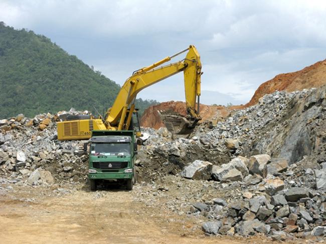 Gần 46 triệu cổ phiếu BGM của Khoáng sản Bắc Giang bị tạm ngừng giao dịch từ 30/3/2017
