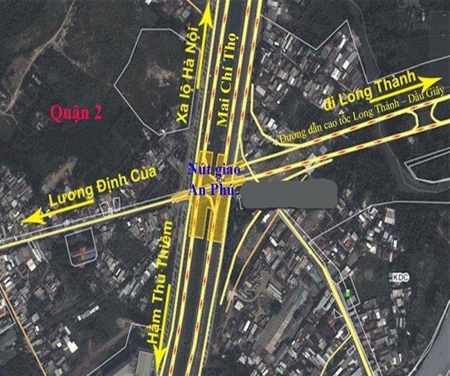 TP.HCM chi 1.035 tỉ đồng đầu tư nút giao An Phú