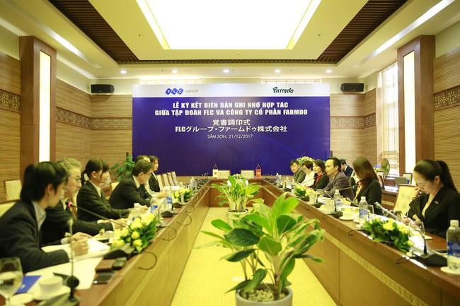 Bắt tay đối tác Nhật, FLC dự kiến đầu tư 1,5 tỷ USD vào nông nghiệp công nghệ cao Việt Nam
