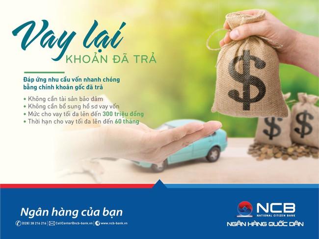 NCB ra mắt hai sản phẩm cho vay tiện lợi không tài sản bảo đảm