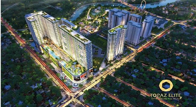 Topaz Elite: Điểm sáng của thị trường bất động sản 2017