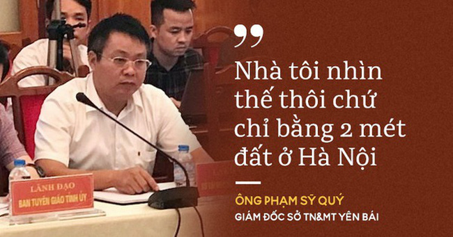 """9 phát ngôn của ông Phạm Sỹ Quý về """"biệt phủ"""" trước khi có kết luận thanh tra"""
