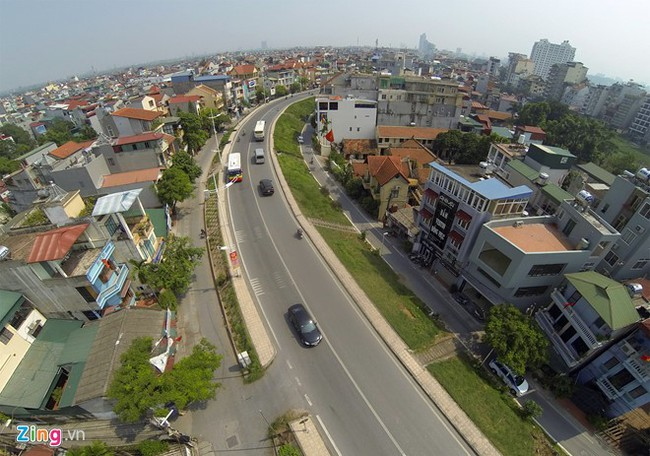 Hà Nội đề xuất hạ độ cao đê sông Hồng bằng đường dân sinh để mở rộng đường Nghi Tàm