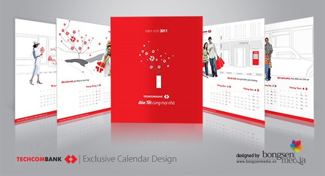 Nâng tầm giá trị thương hiệu Việt qua thiết kế lịch độc quyền