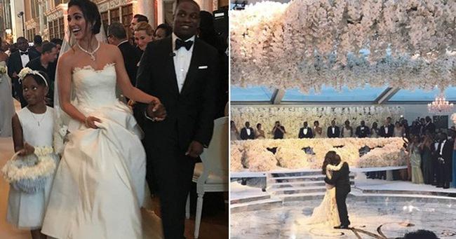 Đám cưới sang chảnh với 1 triệu bông hồng của con trai tỷ phú da màu giàu nhất thế giới