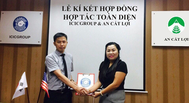 ICIC Group và An Cát Lợi liên kết hợp tác