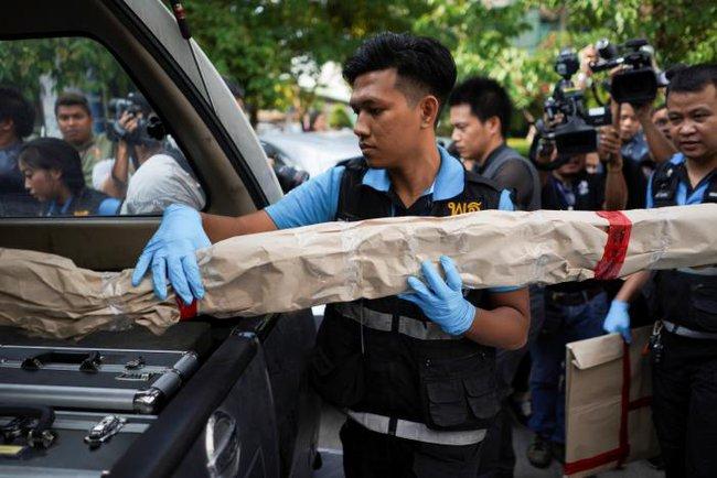 Nổ bom trong bệnh viện quân y ở Bangkok, hàng chục người bị thương