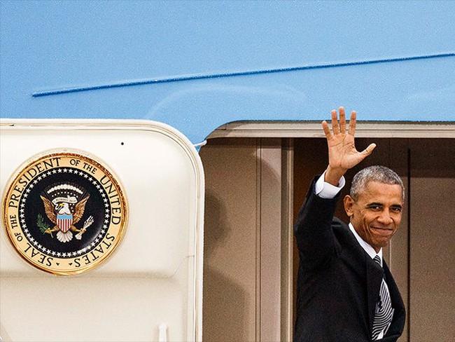 Ít phút nữa Barack Obama sẽ nói lời từ biệt Nhà Trắng