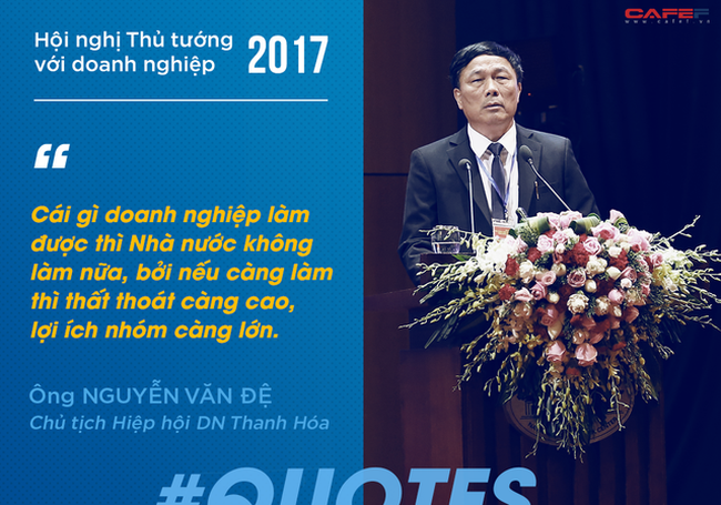 10 phát ngôn ấn tượng của doanh nhân tại Hội nghị Thủ tướng với doanh nghiệp 2017