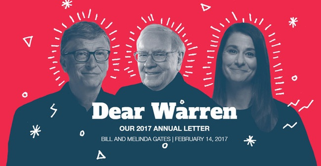 Nội dung bức thư tỷ đô giải cứu thế giới gửi Warren Buffett của vợ chồng Bill Gates