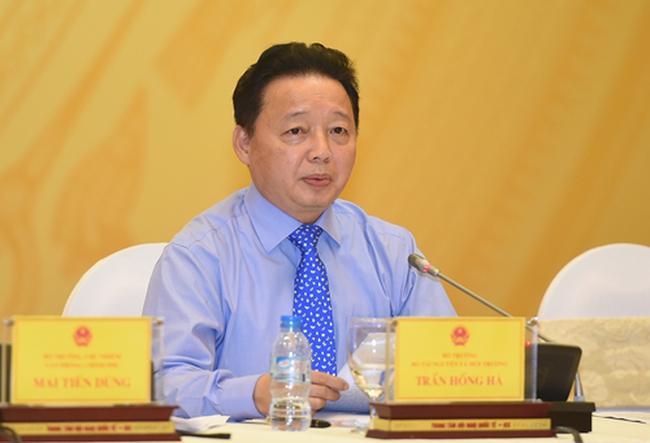 Bộ trưởng Trần Hồng Hà: Chất nạo vét từ biển không phải là chất thải mà là tài nguyên