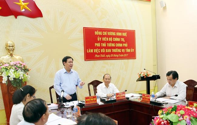 Bộ Chính trị kiểm tra công tác cán bộ tại Bình Thuận