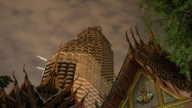 Tòa cao ốc ma giữa lòng Bangkok, minh chứng cho cuộc khủng hoảng tài chính châu Á