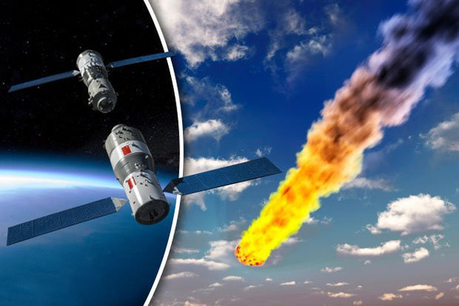 Trạm vũ trụ Trung Quốc đang rơi vô định xuống trái đất, mảnh vỡ có thể trúng Việt Nam - ảnh 1