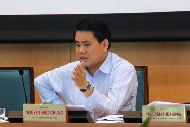 Chủ tịch UBND TP Hà Nội: Nhanh chóng sáp nhập, giải thể bớt các ban chỉ đạo thuộc thành phố