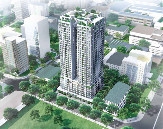 Hà Nội có thêm dự án chung cư cao cấp tại trung tâm quận Cầu Giấy - ảnh 1