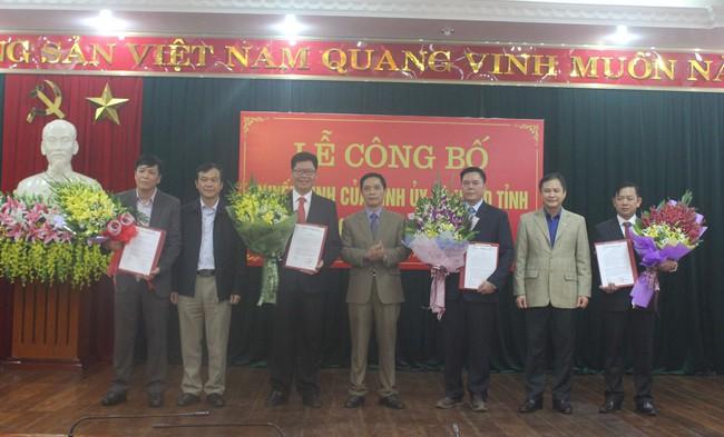 Luân chuyển, bổ nhiệm nhân sự tỉnh Cao Bằng