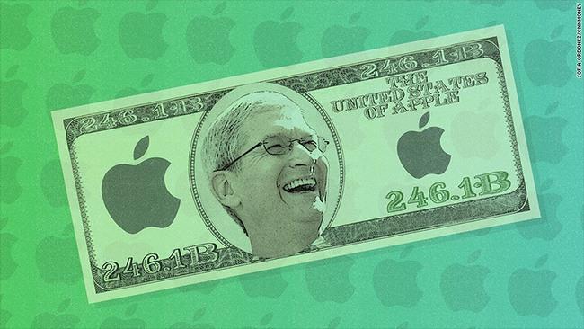 Với 246 tỷ USD tiền mặt, đế chế Apple mạnh như thế nào?