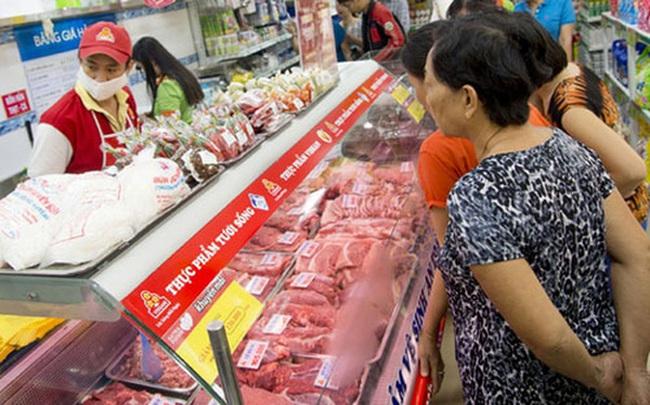"""Giá thịt lợn giảm khiến CPI có tháng 4 """"đặc biệt"""" sau 9 năm"""