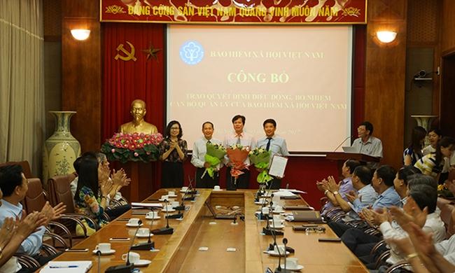 Điều động, bổ nhiệm nhân sự chủ chốt BHXH Việt Nam