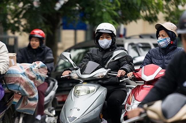 Không khí lạnh tràn về, Hà Nội sắp rét 16 độ C