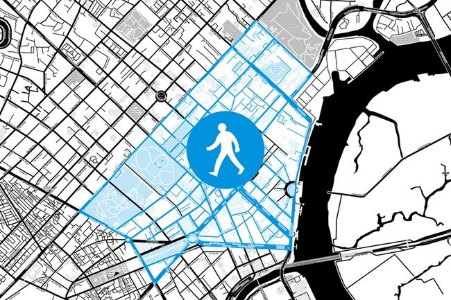 Phố đi bộ rộng 221ha ở trung tâm TP.HCM sẽ được làm như thế nào?